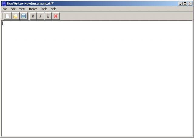BlueWriter - Java RTF Editor
