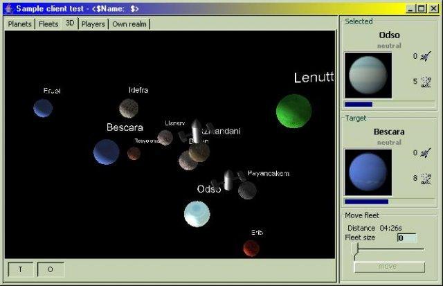 Jawp - java space game