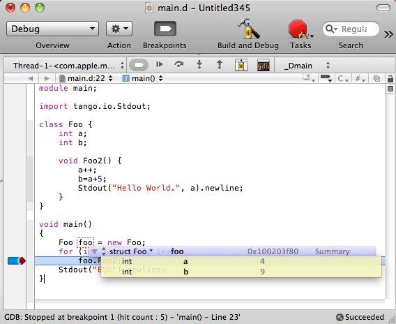 LDC D Plugin for XCode