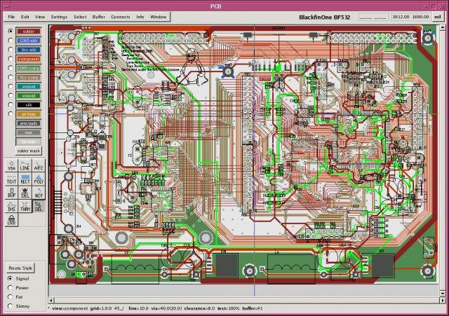 Download free Printed Circuit Board Layout Tool by pcb.gpleda.org ...