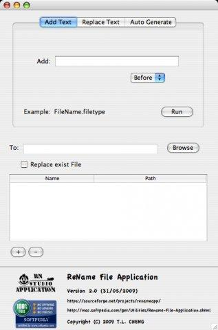 ReName File Application