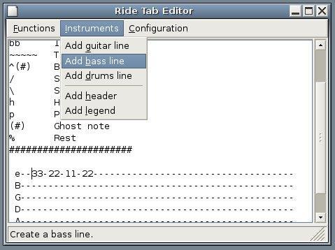 Download free DTAB - Drum Tab Editor by underwaredesign com