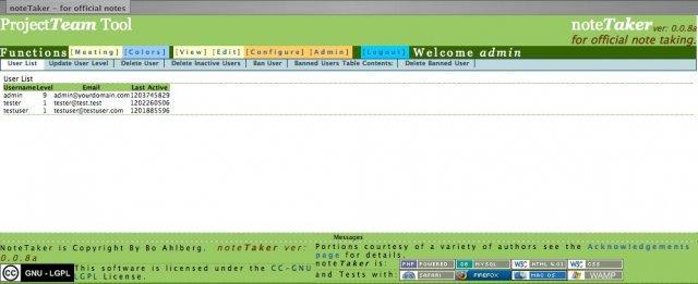 Web-NoteTaker