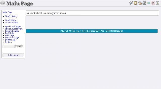 WoaS - Wiki on a Stick