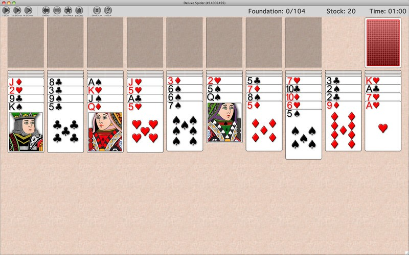 Download free GameHouse Solitaire Challenge Deluxe by Zylom Games v