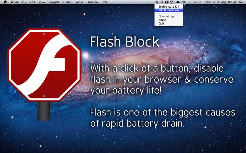 Flash Block