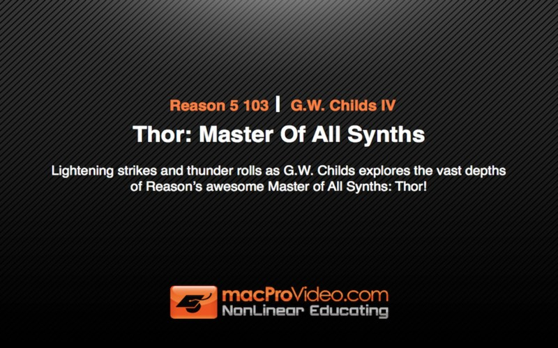 Reason's Thor: Master Of All Synths