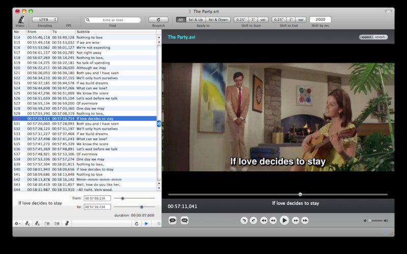 Download free Subtitles theEditor by Wide SD v 1 14 software