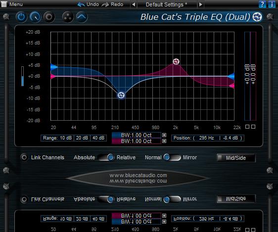 Blue Cat's Triple EQ for Mac OS X