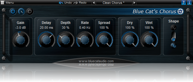 Blue Cat's Chorus for Mac OS X