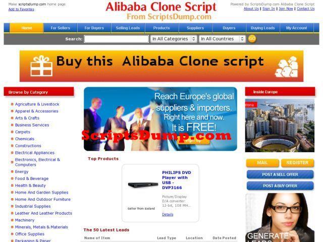 Best Alibaba Clone Script ScriptsDump
