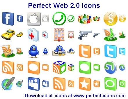 Perfect Web 2.0 Icons