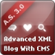 Advanced XML Flash Blog with CMS and Rating System