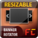 Resizable XML Image Gallery / Products Showcase / Banner Rotator