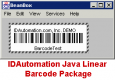 IDAutomation Java Linear Barcode Package
