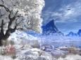 Winter Lake - Animated Wallpaper