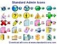 Standard Admin Icons