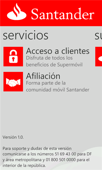 Download free superm vil by banco santander m xico s a for Localizador de sucursales santander