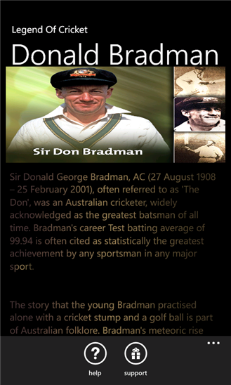 sir don bradman We are open everyday 10am - 5pm, except for good friday & christmas day subscribe to our free email newsletter to hear all the latest news, events and promotions.