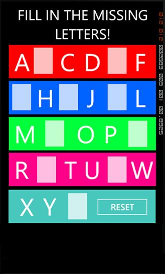 Download Free Missing Letters By KGDev V 1 1 0 0 Software
